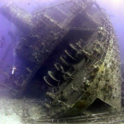 The fantastic Giannis D shipwreck in the Red Sea. You could complete you PADI Wreck Speciality on this wreck with Scuba in the Weald!
