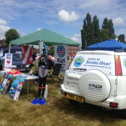 Scuba in the Weald selling PADI courses in Cranbrook, Kent