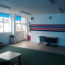 Scuba in the Weald's classroom teaching facility in Hawkhurst, Kent